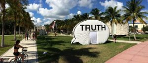 Truth Booth at Miami Art Basel
