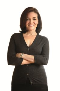 Author of Option B, Sheryl Sandberg.