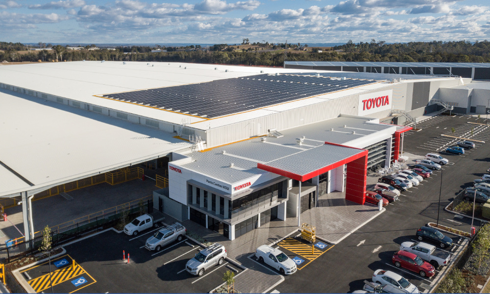 The new Toyota Parts Centre NSW (TPC) in Western Sydney