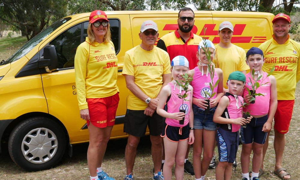 Botany, Sydney DHL and SLSA tree planting_24-11-2018_Supplied by Anita Mayne