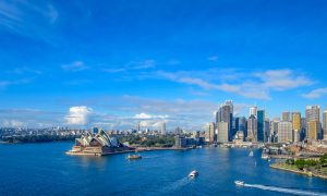 sydney harbour stock
