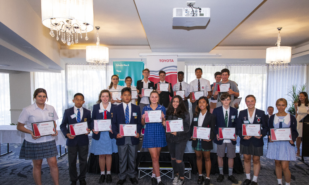 Recipients of the 2018 Toyota Australia Scholarships