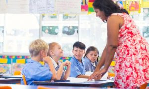 A-teacher-with-her-students-inside-a-classroom
