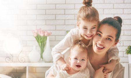 mother child stock image