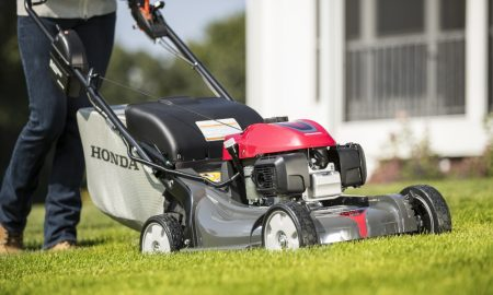 The New Honda HRX Lawnmower